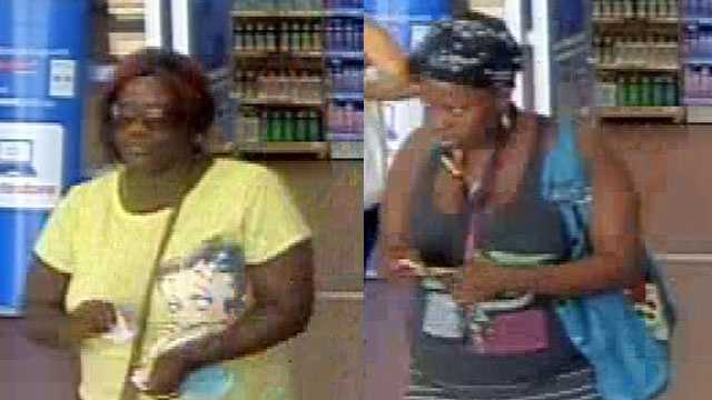 These women are accused of using distraction techniques to steal a wallet from a purse at stores in Boynton Beach and Delray Beach.