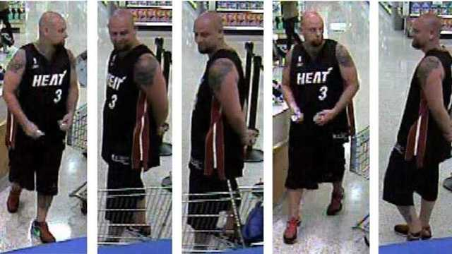 Detectives say this man stole a woman's purse from the parking lot of a Publix on Palmetto Park Road.