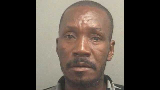 Clebert Aladin is accused of exposing his genitals to three children in Riviera Beach.