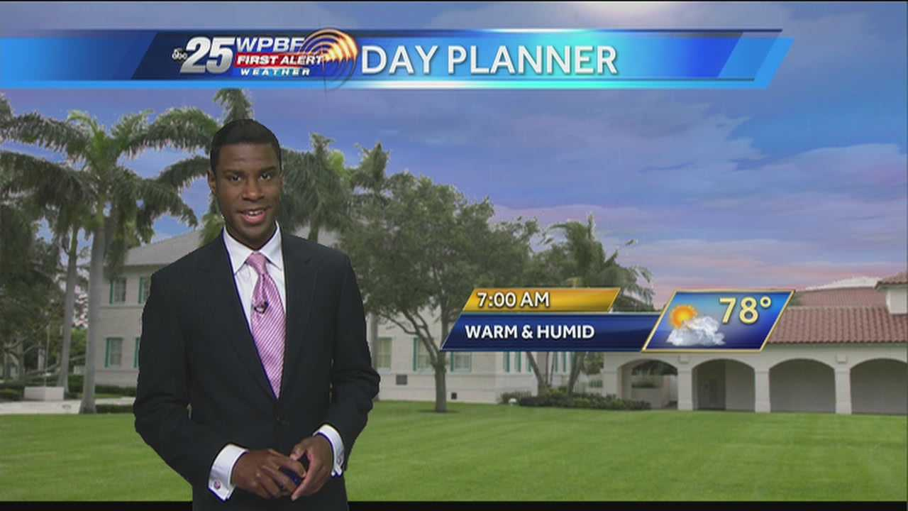 Justin says more wet weather is expected in the area Friday.