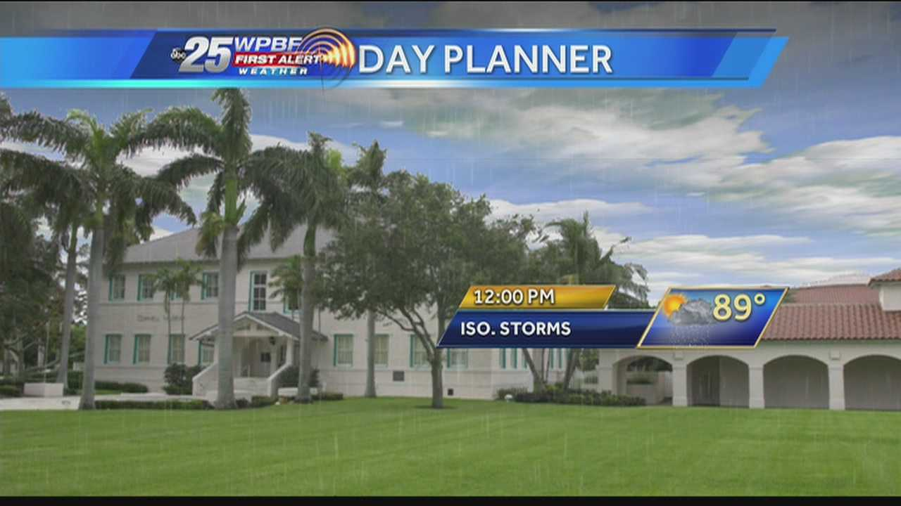 img-First Alert Forecast Showers storms expected