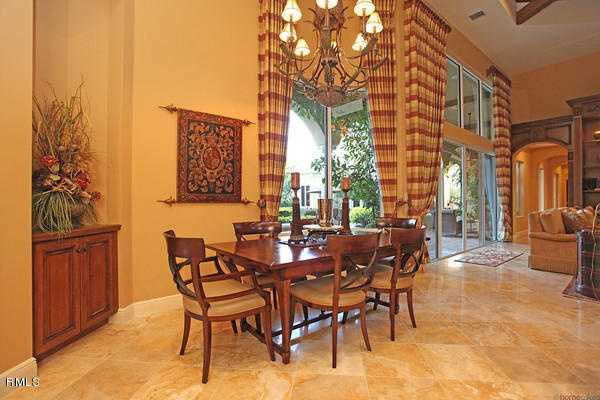 The home has an open layout, perfect for entertaining large parties.