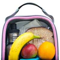 Lunch bag or box: If you are sending your child to school with a lunch be sure to purchase a container they can transport their lunch in, preferably something will keep their food at a safe temperature.