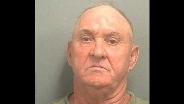 Gregory Emily is accused of fondling a girl at a Laundromat in Greenacres.