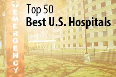 Take a look at the 50 best hospitals (in no specific order) in the United States, as ranked by LiveScience.com in 2012.
