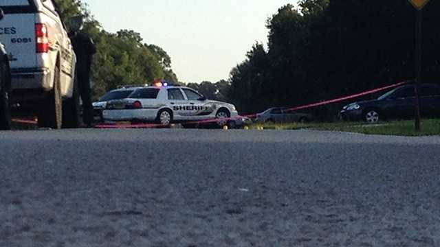 A man was shot while riding his bike in Lakewood Park on Friday morning.