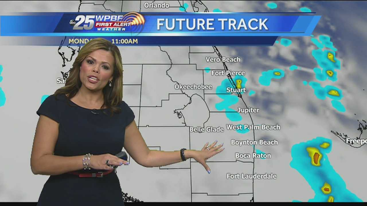 More wet weather is possible around town Monday