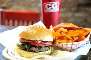 18. Carmine's CG Burgers (multiple locations)