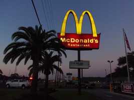 19. McDonald's (multiple locations)