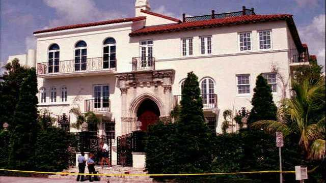 The mansion at 1116 Ocean Drive received national attention after Gianni Versace was fatally shot outside the mansion in 1997.