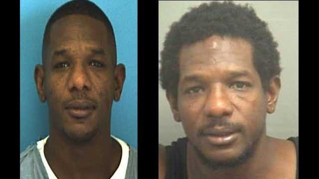 Melvin Horne (left, pictured in 1996) served 17 years in prison for second-degree murder. Horne (right, in 2013) was arrested less than a year later in connection with a violent kidnapping in West Palm Beach.