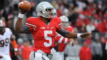 Ohio State quarterback Braxton Miller has thrown for 3,198 yards and 28 touchdowns, in addition to rushing for 20 touchdowns in his career. As a sophomore in 2012, Miller led the Buckeyes to a perfect season.