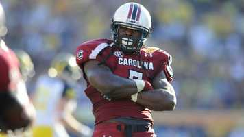 South Carolina defensive end Jadeveon Clowney could become the first defensive player to win the Heisman Trophy since Michigan cornerback Charles Woodson in 1997 after finishing sixth last year. Clowney set the school single-season record for sacks (13) and tackles for loss (23.5). He also has eight career forced fumbles.