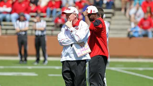 """Bobby Petrino was unceremoniously fired as head coach at Arkansas in the spring of 2012 after a motorcycle crash led to the revelation that he lied about an """"inappropriate relationship"""" with a former volleyball player whom he had hired as a student-athlete development coordinator for the football team. After a year out of football, Petrino gets a second chance at Western Kentucky."""