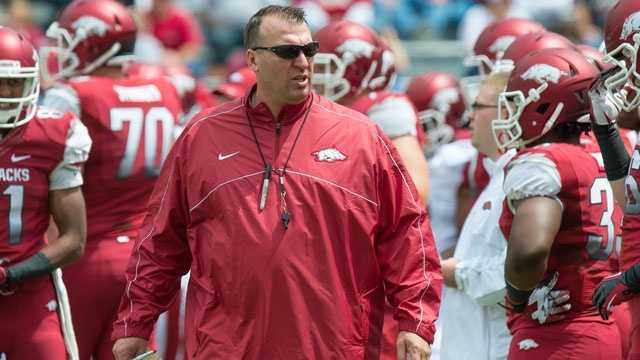 Bret Bielema left Wisconsin for Arkansas this season after leading the Badgers to three straight Rose Bowl appearances. Arkansas fans hope Bielema is the man to make the Razorbacks a contender again in the SEC Western Division.
