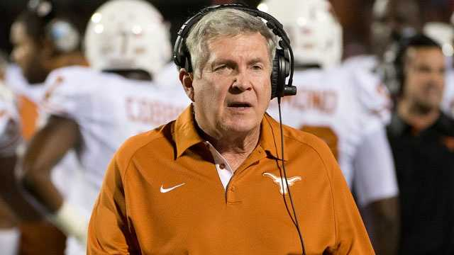 Texas is 134-34 under Mack Brown and 82-22 in Big 12 Conference play, including a national championship in 2005, since he became head coach in 1998, but merely winning games won't cut it. Mack's 6-9 record against rival Oklahoma, including a current three-game losing streak, is hard to ignore. If the Longhorns can't get back to consistently winning 10-plus games each season, Brown could be sent packing.