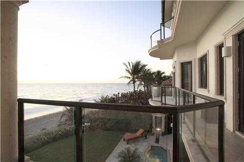 Each floor has full length balcony.