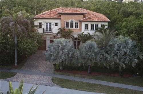 Literally this house has everything. To learn more about this immaculate compound, visit Realtor.com