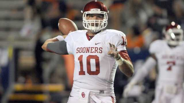 Oklahoma quarterback Blake Bell takes over for the departed Landry Jones, who finished his college career with 16,646 passing yards and 123 touchdowns. The junior signal caller has already rushed for 24 touchdowns in short-yardage situations, but he'll be asked to do more for the Sooners this year.