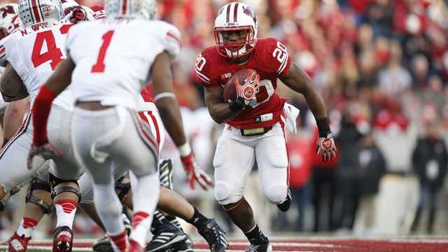 Wisconsin running back James White is a Doak Walker Award candidate after rushing for 806 yards and 12 touchdowns behind starter Montee Ball last season. Ball's 77 career rushing touchdowns is an NCAA Division I Football Bowl Subdivision record. White, who starred at St. Thomas Aquinas High School in Fort Lauderdale, was the Big Ten Conference freshman of the year in 2010.