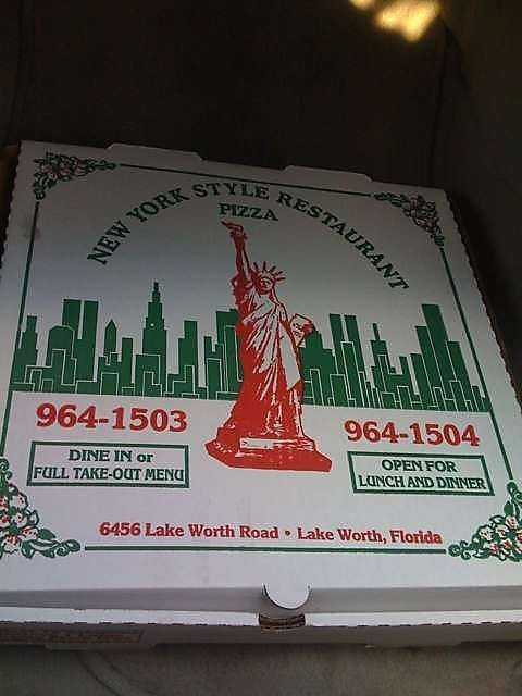 8. New York Style Pizza and Restaurant in Greenacres
