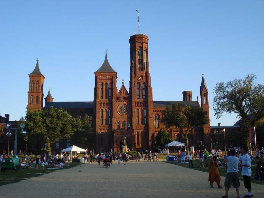 August 10: Smithsonian Institution Anniversary