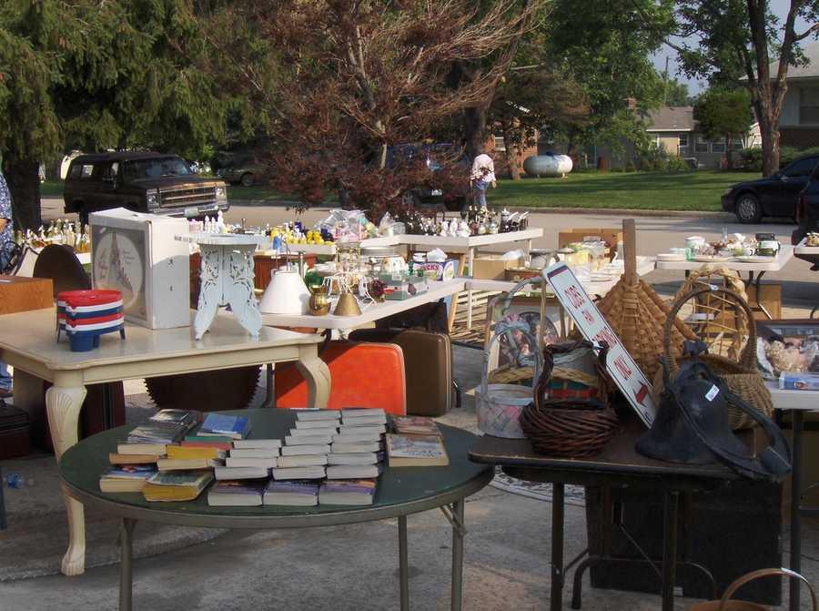 August 13: National Garage Sale Day