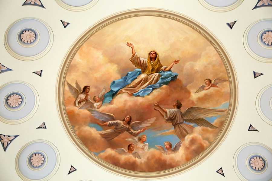 August 15: Assumption of the Virgin Mary/ Feast of the Assumption