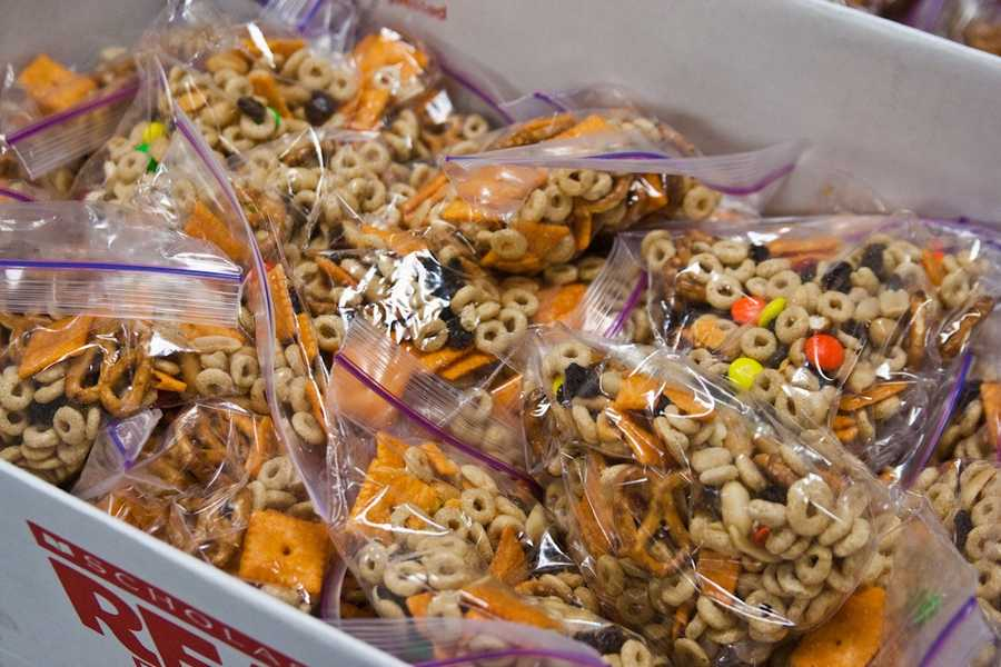 August 31: National Trail Mix Day