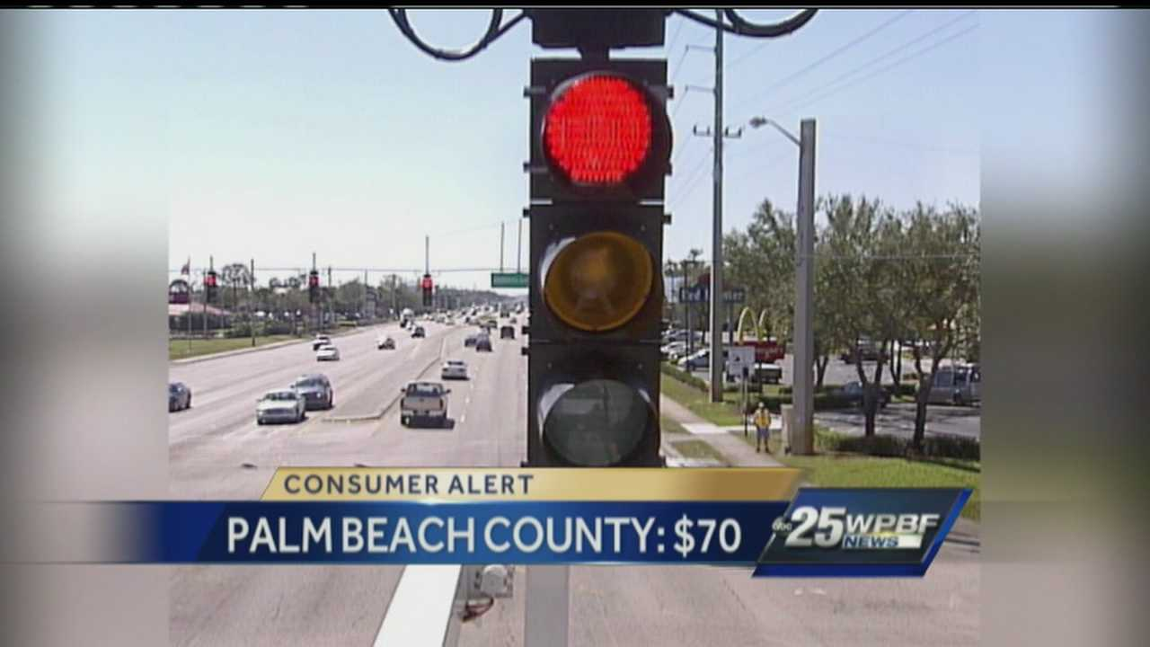 Fighting red-light tickets might be more trouble than they're worth in some parts of town. Which areas charge the most for court costs? Find out on WPBF.com.