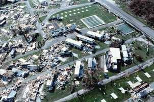 1992: Hurricane Andrew caused widespread damage to South Florida.  The name was retired.