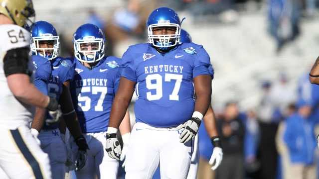 Kentucky senior defensive tackle Mister Cobble has one more season to turn his last name into a verb when it comes to his opponents.