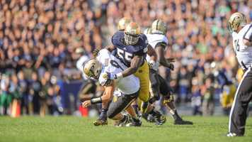 His name may be fit for a prince, but senior Prince Shembo tackles like a king. The Notre Dame linebacker started all 13 games for the Fighting Irish and had a career-high 51 tackles last season.