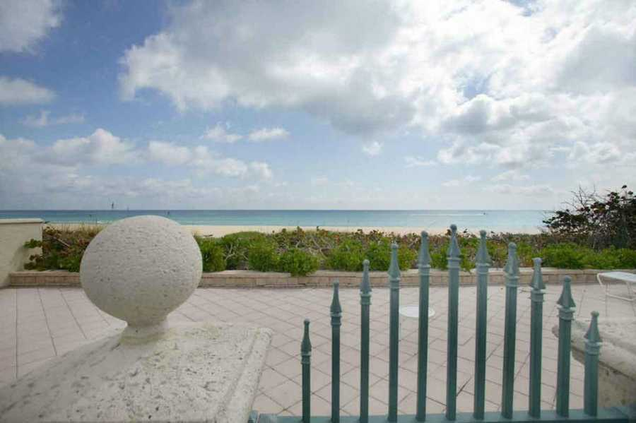 Finally, the property includes a private beach cabana at the end of the street and private beach terrace. For more information, visit Realtor.com.