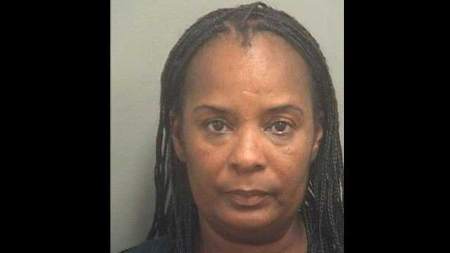 Police say Freda Johnson called 911 to complain about receiving a citation for not wearing a seat belt.