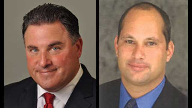 "Mayors Michael Pizzi and Manuel ""Manny"" Marono were arrested on bribery-related charges."