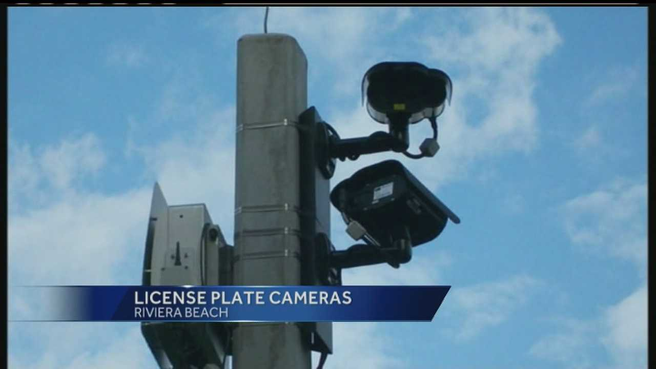 New traffic cameras will capture license plates in Riviera Beach, which will help police track stolen cars or fugitives.