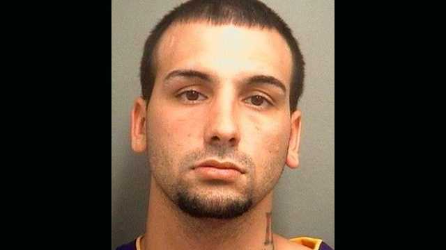 Robert Lisi is accused of stealing a woman's purse at a Boynton Beach restaurant.