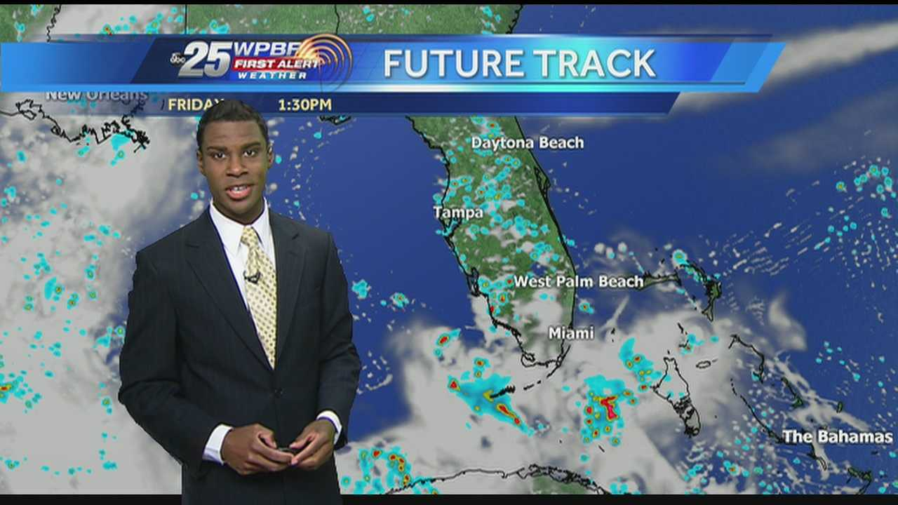 Wet weather is on tap Friday in South Florida.