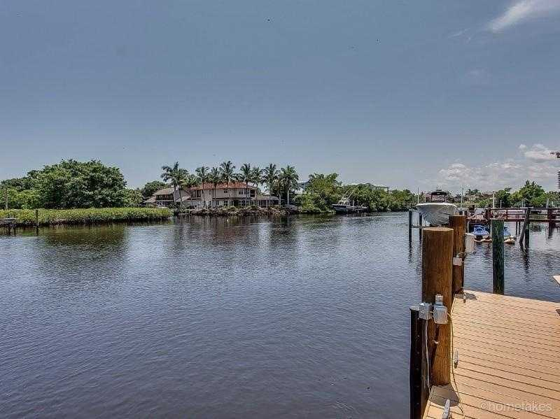 Best of all, a boat ride is minutes from the Atlantic Ocean. For more information on this home, visit Realtor.com.
