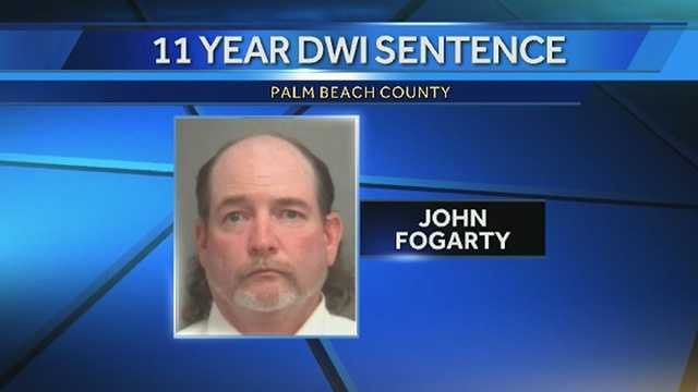 John Fogarty was sentenced to 11 years in prison following a fatal DUI crash in 2011.