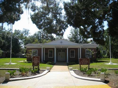 Gorrie Ice Museum in Apalachicola: John Gorrie moved to Apalachicola in the early 1800s when it was a prominent port of trade, commerce, and shipping in Florida. Gorrie served as postmaster, city treasurer, town councilman, and bank director. Concern for his yellow fever patients motivated Gorrie to invent a method for cooling their rooms. He became a pioneer in the field of air conditioning and refrigeration by inventing a machine that made ice, and received the first U.S. Patent for mechanical refrigeration in 1851. A replica of his ice-making machine is on display at the museum, as well as exhibits chronicling the colorful history of Apalachicola.