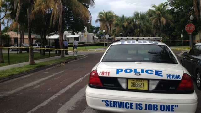 A 19-year-old man was shot dead in West Palm Beach early Thursday morning.
