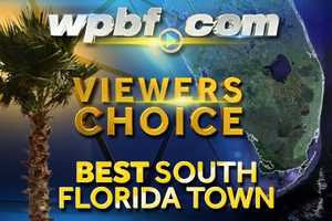 We asked and you answered. Here they are, the top 25 South Florida towns, as voted on by our Facebook fans.