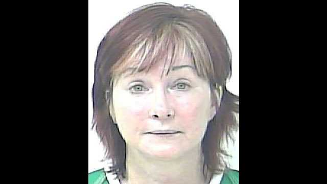 Jean Dixon is accused of attacking her live-in boyfriend.