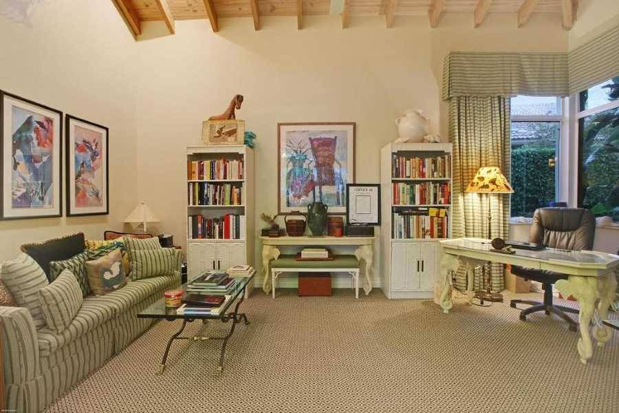 The home also includes a very spacious personal office/study.