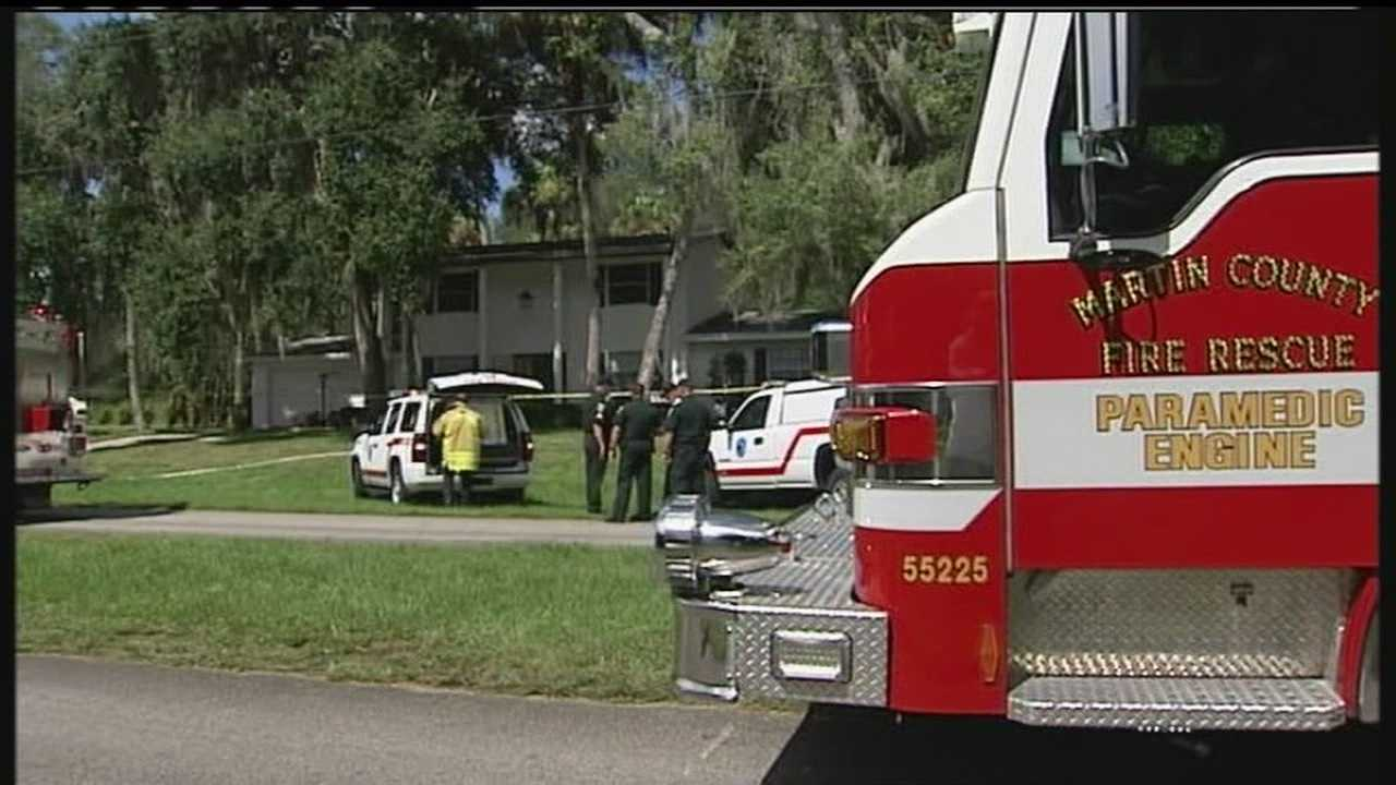 A fire causes significant damage to a house in Indiantown.