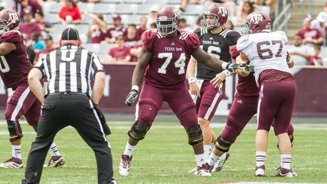 Germain Ifedi was listed as the backup to Texas A&M offensive tackle Luke Joeckel last season. Joeckel was the No. 2 overall pick in April's NFL Draft. The 6-foot-5-inch, 311-pound redshirt freshman is expected to help anchor the offensive line for the Aggies in 2013.