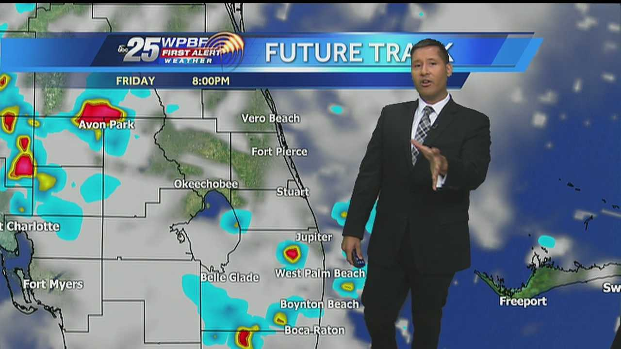Cris says high heat and possible afternoon showers are on tap around South Florida on Friday.
