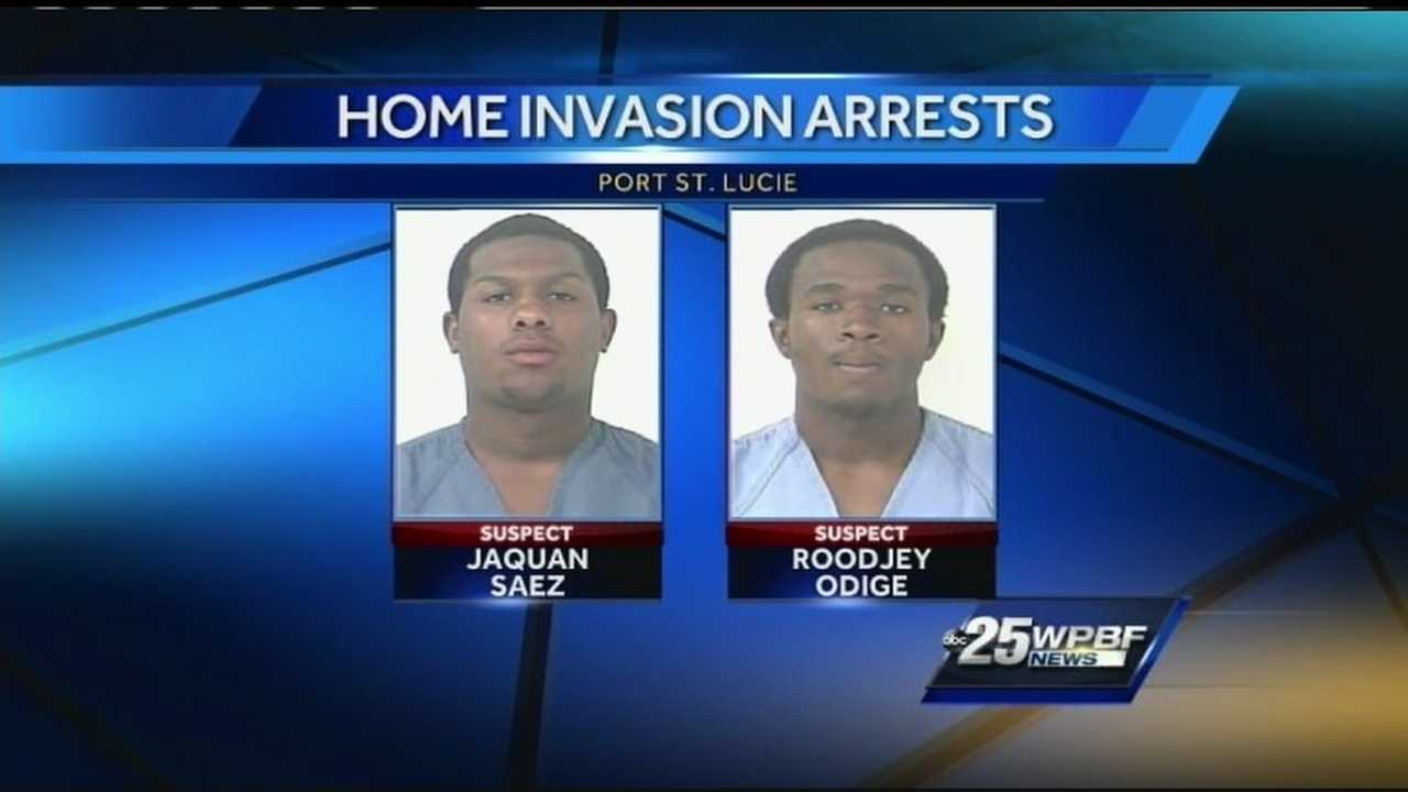 Home-invasion robbery suspects